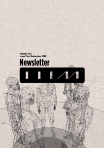 Newsletter Vol1-issue2-2012